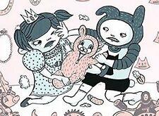 AYA KAKEDA Poster - Blue Bird One & Two - boy girl fighting (two posters)