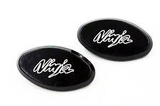 Mirror Block Off Plates Black For Kawasaki Ninja Zx6R Zx6Rr 636 Zx10R 2005-2008