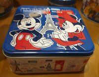 Boîte de Biscuits sablés pur beurre / shortbread Paris 7 Pleine Disneyland Paris