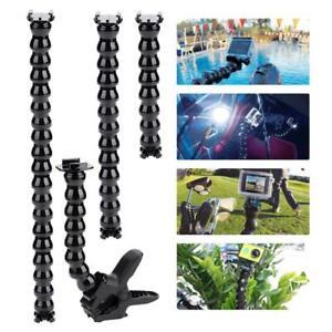 Flexible Clamp Arm Bracket Holder Mount Adapter for GoPro Hero 8/7/6/5/4/3+3/2/1