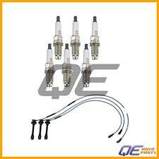 Spark Plug Wire Set NGK, 6 Spark Plugs Denso Toyota 4Runner T100 Tacoma Tundra