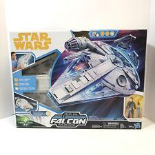 Star Wars Force Link 2.0 Kessel Run Millennium Falcon with Han Solo Figure NEW