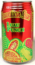 """FULL 11½oz """"Taste of Hawaii"""" Hawaiian Sun Natural """"Luau Punch"""" Guava Papaya 2012"""