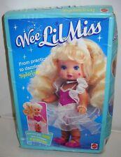 #8724 Vintage Mattel Wee Lil Miss Ballerina Doll & 2 Fashions