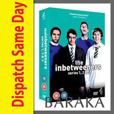 THE INBETWEENERS COMPLETE SEASON 1 2 3 DVD BOX SET NEW