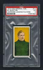 PSA 3 1910 C59 LaCROSSE CARD #12 M. McINTYRE