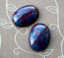 03396 Czech Glass Oval Cabochon 25 x 18 mm - pack of 2