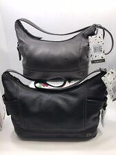 💯The Sak Kendra Hobo High Quality Leather Purse Shoulder Bag Black OR Gray $149