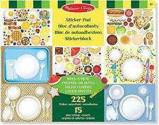 Melissa & Doug Make-a-meal Sticker Pad