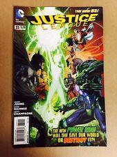 JUSTICE LEAGUE #31 FIRST PRINT DC (2014) 2ND JESSICA CRUZ GREEN LANTERN BATMAN