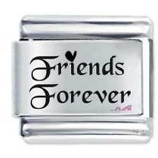 Daisy Charm - FRIENDS FOREVER *  Compatible with Italian charm bracelets