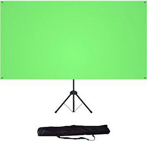 Hintergrund Chromakey Green Screen Hintergrundstoff 183*106 cm mit Stativ Tasche
