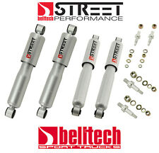 73-87 Chevy/GMC C10 Street Performance Front/Rear Shocks for 2/4 Drop