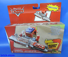 Disney Cars Deluxe  / CDP74 /  Piston Cup / Play & Race Launcher