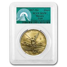 2017 Mexico 1 oz Gold Libertad MS-70 PCGS (Green Label) - SKU#153120