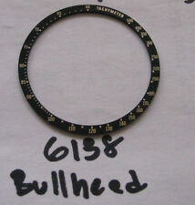 = New BEZEL Insert made for Seiko 6138 Bullhead Chronograph Automatic