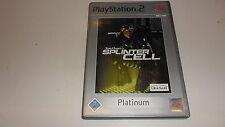 PLAYSTATION 2 PS 2 Tom Clancy 's Splinter Cell (Platinum)