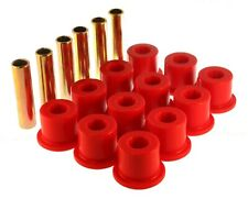 Energy Suspension Leaf Spring Bushing Set Red Rear for Chevrolet, GMC # 3.2106R