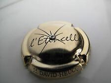 Capsule de Champagne  DAVID-HEUCQ Henri cuvée l'étincelle n°33