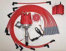 Small Cap BUICK BIG BLOCK 400 430 455 RED HEI Distributor + RED 50K Coil + Wires