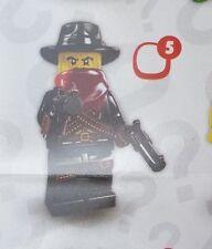 Lego 8827 Series 6 #5 Western Cowboy BANDIT Outlaw figure Minifigure Sealed