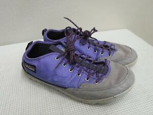 PATAGONIA VIOLETTI 8 39 Purple Canvas Waterproof Lace Sneakers Sport Trail Shoes