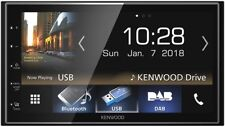 Kenwood DMX7018DABS Bluetooth DAB USB Android Auto Apple Car Play Touchscreen 2