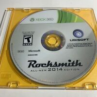 Rocksmith 2014 Edition (Microsoft Xbox 360, 2013) DISC ONLY Tested, Works Great!