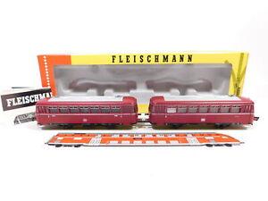 CW363-1# Fleischmann H0 DC 4400 Schienenbus VT 98 mit Beiwagen VS 98 OVP