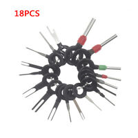 18x Useful Excellent Car Wire Terminal Removal Tools Kit Pin Extractor Puller