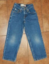 Levi's 550 RELAXED FIT Boys Denim Jeans Size 8 SLIM  22 x 22 Great Condition