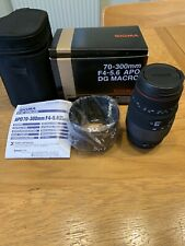 Sigma DG 70-300mm F/4.0-5.6 DG Lens for Canon