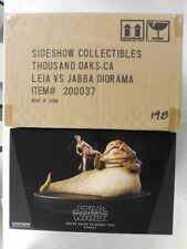 Banned By Disney Sexy Slave Leia vs Jabba Statue # 198/750~ Sideshow 2010 Mib