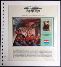 "Paraguay 1985 ""GALOPERA"" Block with RECORD Block mit SCHALLPLATTE Rar MNH"