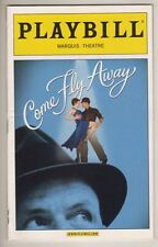 """Come Fly Away"" Broadway Playbill  2010  Twyla Tharp   Frank Sinatra Music"
