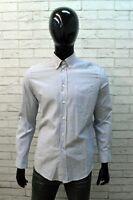 Missoni Uomo Camicia Taglia 48 Camicetta Maglia a Righe Manica Lunga Shirt Man