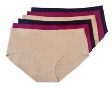 Lot of 6 Women soft seamless Panties Underwear Lingerie Large