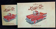 Hallmark Kiddie Car Classics: 1957 Chevrolet Bel-Air Limited & Ornament 2015