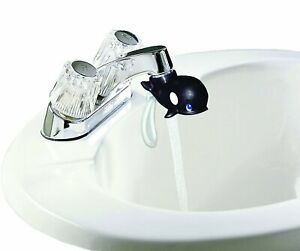 Jokari Whale Faucet Fountain - Kids Bathroom Sink Tap Water Drinking Spout Rinse