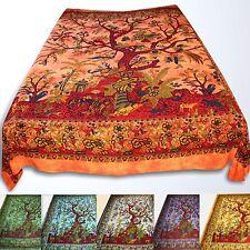 Couvre-Lit Couverture Arbre de Vie L'Arbre la Batik Tissu Déco