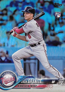 2018 TOPPS  Series 1 - FOIL - #115 ZACK GRANITE - NM/M