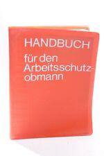 Livre Handbuch Sécurité Au Travail Arbeitsschutzobmann Matériel Pédagogique