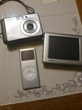 electronics lot.samsung dig camera.gps and apple ipod.all perfect free ship