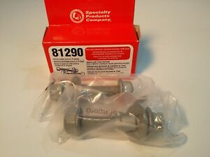 81290 SPC Performance Ez Cam XR Ajustable Camber Bolts 17mm (Quantity 2 in Box)