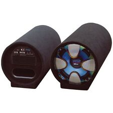 "PYLE PLTAB10 Blue Wave Series Amplified Subwoofer Tube System (10"""", 500 Watts)"