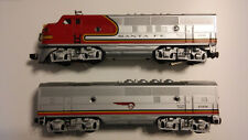 Lionel Trains 6 18128 6-18129 Santa Fe F3 A Pwr B Unit Diesel Locomotives