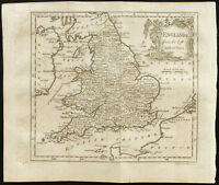 1770 - Antique Map England (England) - Guthrie, Kitchin - Antique Map