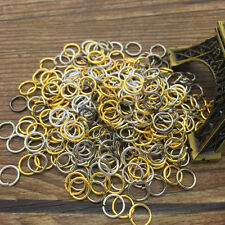 Wholesale 4/5/6/8MM Jump Rings Open Connectors Jewelry Making Finding Pick Color