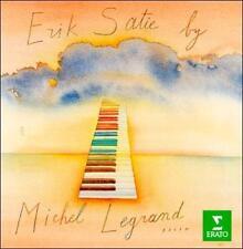 """ERIK SATIE BY MICHEL LEGRAND"" - classical piano solos CD - Gymnopedie / Caresse"