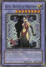 Ruin, Queen of Oblivion NM Ultimate 1st Ed 034 Shadow of Infinity Yu-Gi-Oh